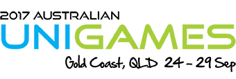 2017 Australian UNIGAMES Gold Coast, QLD 24-29 September